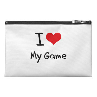 I Love My Game Travel Accessories Bags
