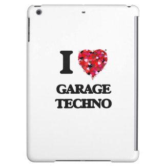 I Love My GARAGE TECHNO iPad Air Covers