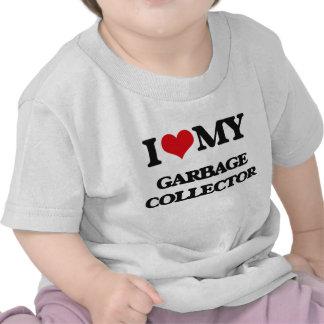 I love my Garbage Collector Tee Shirt