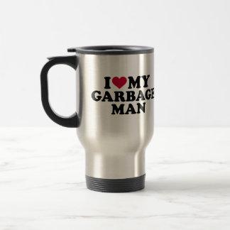 I love my garbage man travel mug