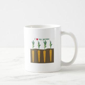 I Love My Garden Coffee Mugs