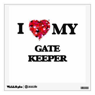 I love my Gate Keeper Wall Stickers