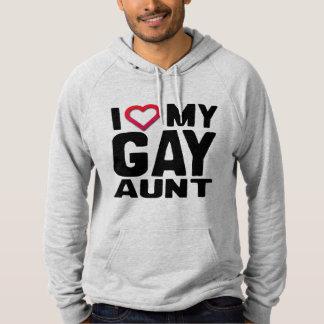 I LOVE MY GAY AUNT - HOODIE