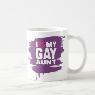 I LOVE MY GAY AUNT - -.png Classic White Coffee Mug