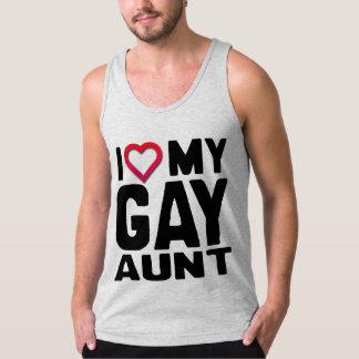 I LOVE MY GAY AUNT - TANK TOP