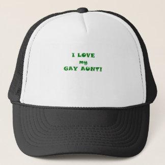 I Love my Gay Aunt Trucker Hat