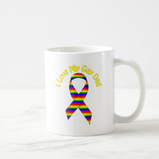 I Love My Gay Dad Coffee Mug