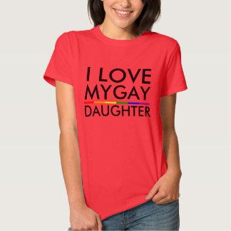 I LOVE MY GAY DAUGHTER TSHIRT