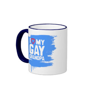 I LOVE MY GAY GRANDPA - -.png Mugs
