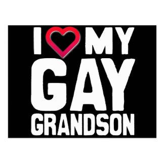 I LOVE MY GAY GRANDSON - -.png Postcards