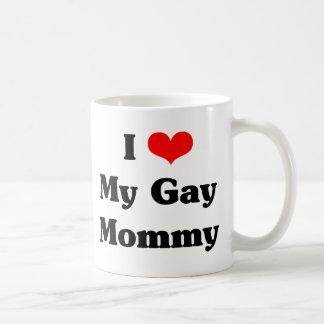 I love my gay mommy coffee mug