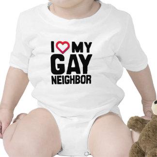 I LOVE MY GAY NEIGHBOR -.png Tshirt