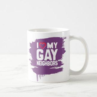 I LOVE MY GAY NEIGHBORS - -.png Coffee Mugs