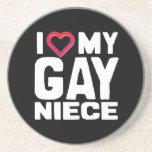 I LOVE MY GAY NIECE - -.png Beverage Coaster