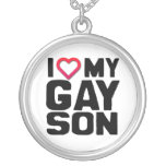 I LOVE MY GAY SON -.png Pendant