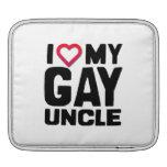 I LOVE MY GAY UNCLE iPad SLEEVE
