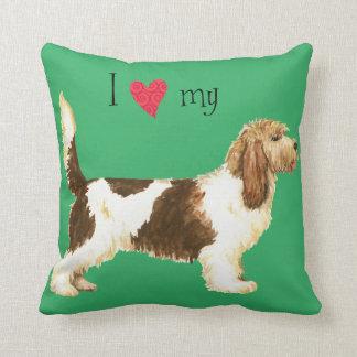 I Love my GBGV Throw Pillow