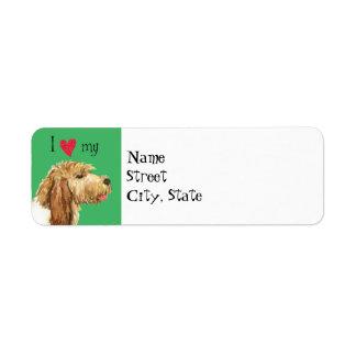 I Love my GBGV Return Address Label
