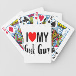 I Love My Geek Guy Bicycle Card Decks