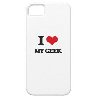 I Love My Geek iPhone 5 Cover