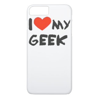 I Love My Geek iPhone 8 Plus/7 Plus Case