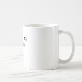I Love my Geek Classic White Coffee Mug