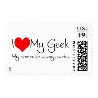 I love my geek stamps