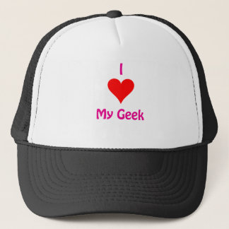 I love my Geek Trucker Hat