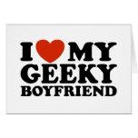 I Love My Geeky Boyfriend Cards