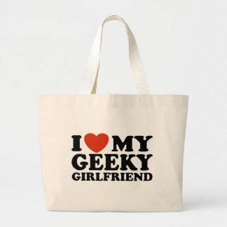 I Love My Geeky Girlfriend Bag