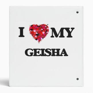 I love my Geisha Vinyl Binder