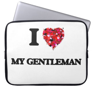 I Love My Gentleman Computer Sleeves