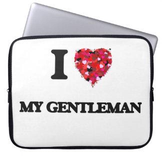 I Love My Gentleman Computer Sleeve