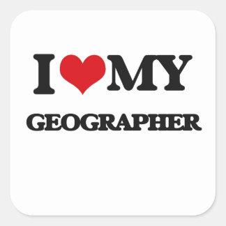 I love my Geographer Sticker