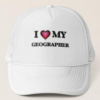 I love my Geographer Trucker Hat