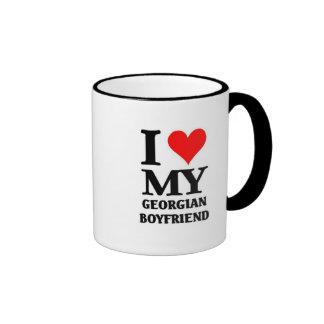 I love my Georgian Boyfriend Ringer Mug
