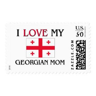I Love My Georgian Mom Postage