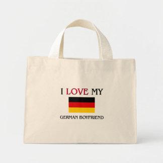 I Love My German Boyfriend Mini Tote Bag