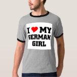 I love my German Girl T-Shirt