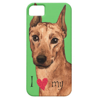 I Love my German Pinscher iPhone 5 Covers