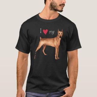 I Love my German Pinscher T-Shirt