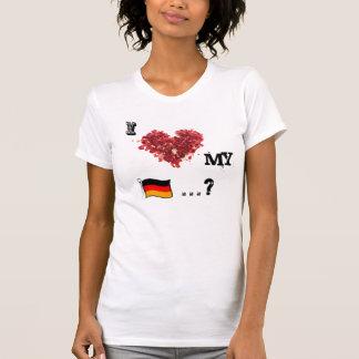 I love my German Sausage T-Shirt