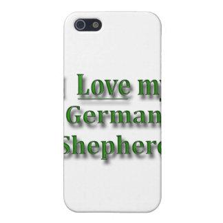 I Love my German Shepherd iPhone SE/5/5s Case