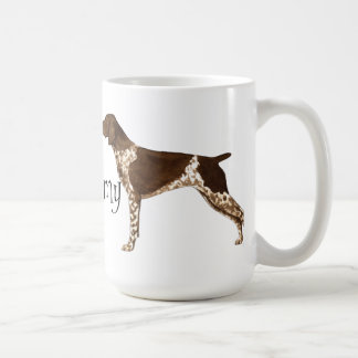 I Love my German Shorthaired Pointer Classic White Coffee Mug