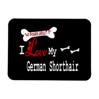 I Love My German Shorthaired Pointer Magnet