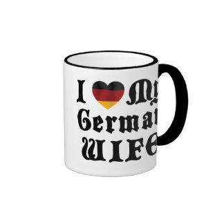 I Love My German Wife Gift Mug