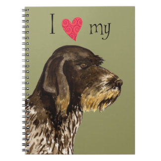 I Love my German Wirehaired Pointer Journal