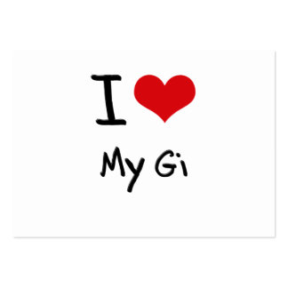 I Love My Gi Business Cards
