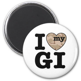 I Love My GI Magnet
