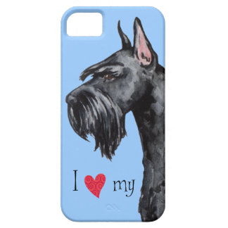 I Love my Giant Schnauzer iPhone SE/5/5s Case